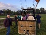 Grandioze luchtballon vaart in de omgeving van Hoogland op zaterdag 20 oktober 2018