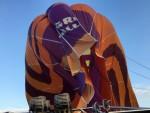 Waanzinnige luchtballon vaart in de omgeving Hoogland op zaterdag 20 oktober 2018