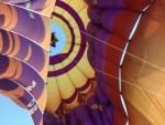 Uitstekende ballonvlucht omgeving Hoogland op zaterdag 20 oktober 2018