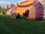 Bijzondere luchtballonvaart gestart op opstijglocatie Beesd op zaterdag 20 oktober 2018