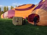 Indrukwekkende ballonvlucht in Beesd op zaterdag 20 oktober 2018