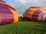 Overweldigende luchtballon vaart in de omgeving van Beesd op zaterdag 20 oktober 2018