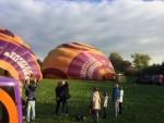 Professionele ballon vaart opgestegen in Beesd op zaterdag 20 oktober 2018