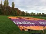 Uitstekende luchtballonvaart in de omgeving van Beesd op zaterdag 20 oktober 2018