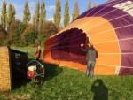 Plezierige ballon vlucht omgeving Beesd op zaterdag 20 oktober 2018