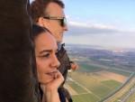 Unieke heteluchtballonvaart gestart op opstijglocatie Beesd op zaterdag 20 oktober 2018
