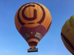 Perfecte luchtballonvaart opgestegen in Beesd op zaterdag 20 oktober 2018