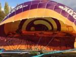Relaxte luchtballonvaart opgestegen op opstijglocatie Beesd op zaterdag 20 oktober 2018