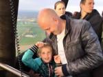 Heerlijke ballonvaart boven de regio Beesd op zaterdag 20 oktober 2018