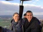 Fabuleuze heteluchtballonvaart gestart in Beesd op zaterdag 20 oktober 2018