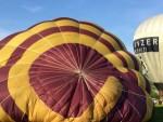 Magnifieke ballon vaart in de buurt van Bavel zaterdag 21 april 2018