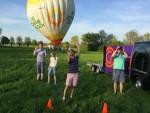 Prachtige ballon vaart vanaf startveld Bavel zaterdag 21 april 2018