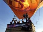 Ongelofelijke mooie luchtballonvaart vanaf startveld Bavel zaterdag 21 april 2018