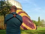 Unieke ballon vaart gestart op opstijglocatie Bavel zaterdag 21 april 2018