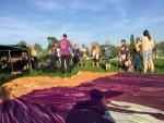 Uitstekende ballonvlucht over de regio Bavel zaterdag 21 april 2018