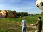 Comfortabele ballonvaart in de regio Bavel zaterdag 21 april 2018