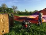 Weergaloze ballonvaart in de omgeving van Beesd zaterdag 21 april 2018