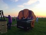 Verbluffende ballonvlucht vanaf startlocatie Beesd zaterdag 21 april 2018