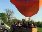Exceptionele ballon vlucht in Beesd zaterdag 21 april 2018