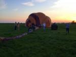 Geweldige heteluchtballonvaart in de omgeving van Beesd zaterdag 21 april 2018