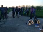 Hoogstaande luchtballonvaart vanaf opstijglocatie Beesd zaterdag 21 april 2018