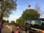 Waanzinnige ballonvlucht in de omgeving van Beesd zaterdag 21 april 2018