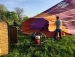 Onovertroffen ballonvaart vanaf opstijglocatie Beesd zaterdag 21 april 2018