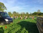 Magnifieke heteluchtballonvaart gestart op opstijglocatie Beesd zaterdag 21 april 2018