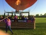 Perfecte ballon vaart gestart op opstijglocatie Horst zaterdag 21 april 2018