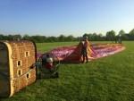 Waanzinnige ballon vlucht gestart op opstijglocatie Horst zaterdag 21 april 2018