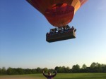 Super heteluchtballonvaart gestart op opstijglocatie Horst zaterdag 21 april 2018