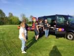 Voortreffelijke ballonvlucht in de omgeving Horst zaterdag 21 april 2018