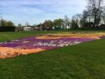 Uitmuntende ballon vaart omgeving Raerd zaterdag 21 april 2018