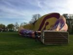 Te gekke heteluchtballonvaart opgestegen in Raerd zaterdag 21 april 2018