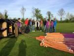 Verrassende luchtballon vaart regio Raerd zaterdag 21 april 2018