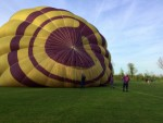 Majestueuze ballonvlucht gestart in Raerd zaterdag 21 april 2018