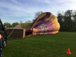 Uitzonderlijke ballon vaart gestart in Raerd zaterdag 21 april 2018