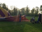 Hoogstaande ballonvlucht in Raerd zaterdag 21 april 2018