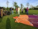 Jaloersmakende ballonvlucht in de regio Raerd zaterdag 21 april 2018