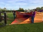 Schitterende luchtballonvaart regio Raerd zaterdag 21 april 2018