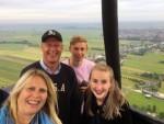 Majestueuze luchtballonvaart vanaf startlocatie Alphen aan den rijn zaterdag 23 juni 2018