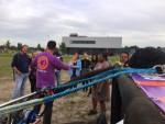 Super ballon vaart in de regio Gorinchem zaterdag 23 juni 2018