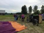 Hoogstaande ballon vaart regio Gorinchem zaterdag 23 juni 2018