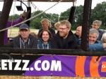 Hoogstaande heteluchtballonvaart over de regio Hoogland zaterdag 23 juni 2018