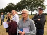 Feestelijke ballon vaart boven de regio Hoogland zaterdag 23 juni 2018