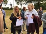 Buitengewone ballonvlucht gestart in Hoogland zaterdag 23 juni 2018