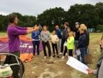 Schitterende ballonvlucht opgestegen op startlocatie Hoogland zaterdag 23 juni 2018
