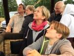 Te gekke luchtballon vaart in Hoogland zaterdag 23 juni 2018