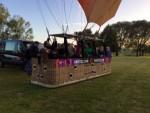 Jaloersmakende ballonvaart opgestegen op startlocatie Maastricht zaterdag 23 juni 2018