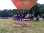 Sublieme heteluchtballonvaart omgeving Oosterhout zaterdag 23 juni 2018